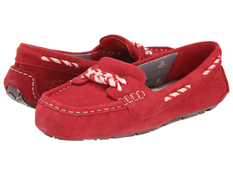 UGG - Genoa (Red Suede) Women's Slippers