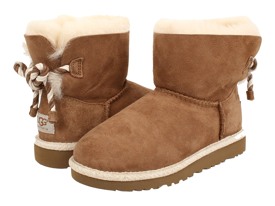 UGG Kids - Selene (Little Kid/Big Kid) (Chestnut) Girl's Shoes