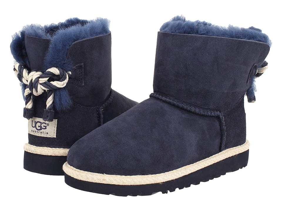 UGG Kids - Selene (Little Kid/Big Kid) (Navy) Girl's Shoes