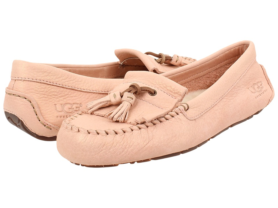 UGG - Margaret (Pink Dust Leather) Women's Flat Shoes