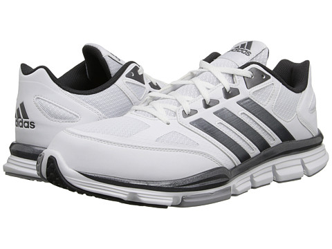 adidas - Speed Trainer (White/Carbon Metallic/Light Onix) Men's Shoes