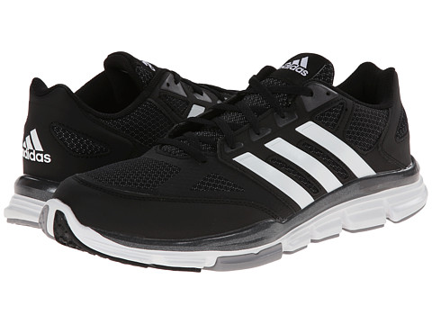 adidas - Speed Trainer (Black/White/Carbon Metallic) Men's Shoes