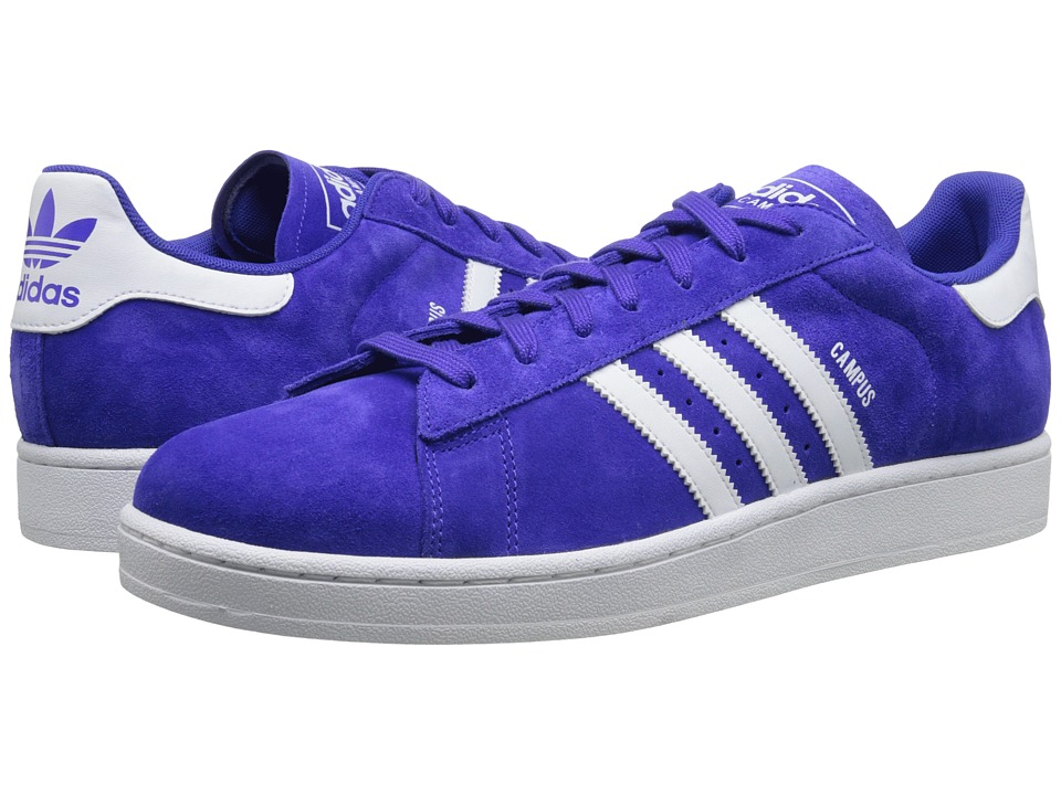adidas Originals - Campus 2 (Night Flash/White/Night Flash) Classic Shoes