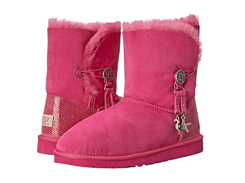 UGG Kids - Bailey Charm (Big Kid) (Princess Pink) Girl