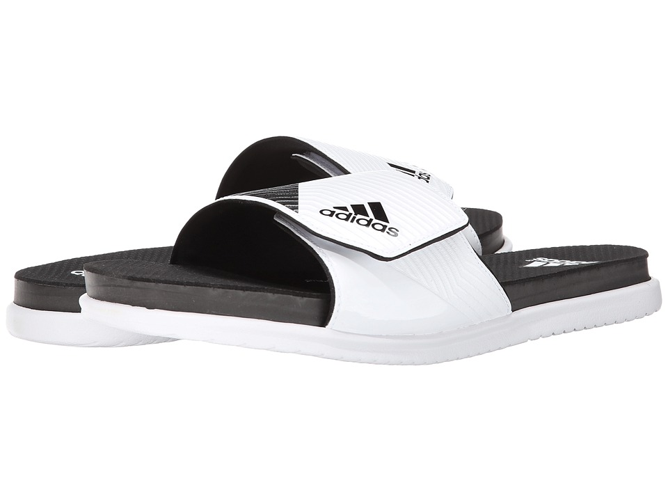 adidas - Supercloud Plus Slide (White/Core Black/Clear Grey) Men
