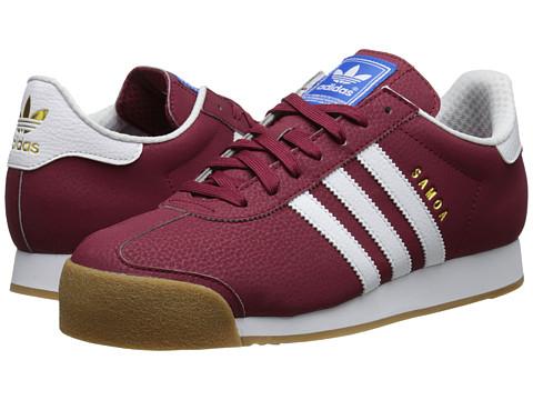 adidas samoa red and white