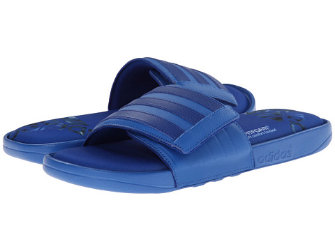 adidas - Adissage Comfort FF (Bright Royal/Black) Men's Slide Shoes