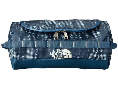 The North Face - Base Camp Travel Canister - Large (Diesel Blue Duo Texture Print) Duffel Bags