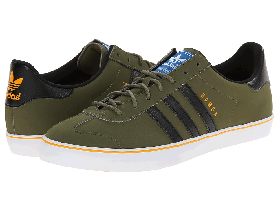 adidas Originals - Samoa Vulc (Olive Cargo/Black/White) Men's Classic Shoes