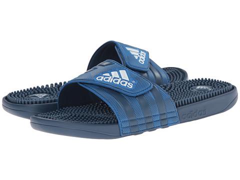 adidas - adissage (Vista Blue/White/Bright Royal) Men's Slide Shoes