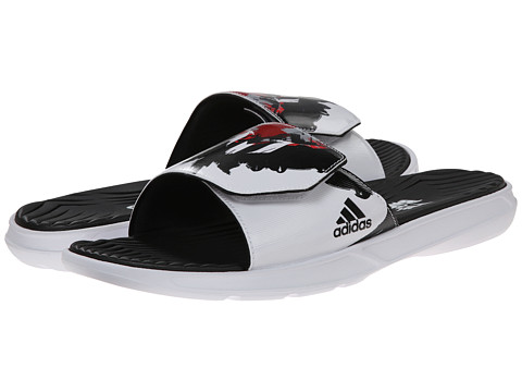 adidas - Messi Slide (Black/Scarlet/White) Men