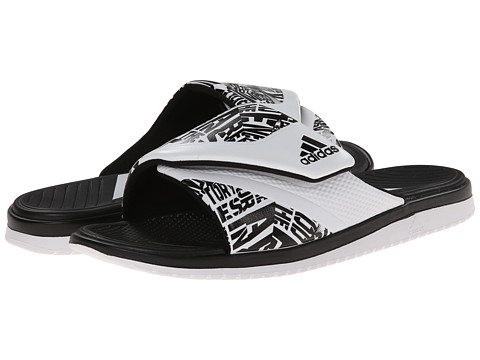 adidas - Carmoflage Slide (Black/White) Men