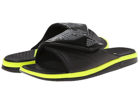 adidas - Carmoflage Slide (Iron Metallic/Black/Semi Solar Yellow) Men