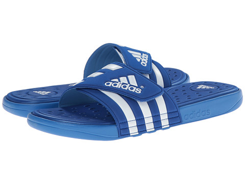 adidas - adissage SC (Collegiate Royal/Bright Royal/White) Men