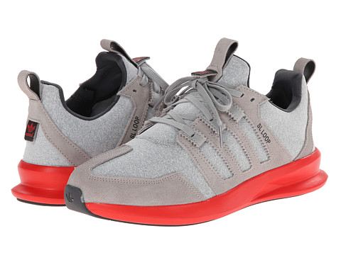 adidas Originals - SL Loop Runner (MGH Solid Grey/MGH/Red) Women's Classic Shoes