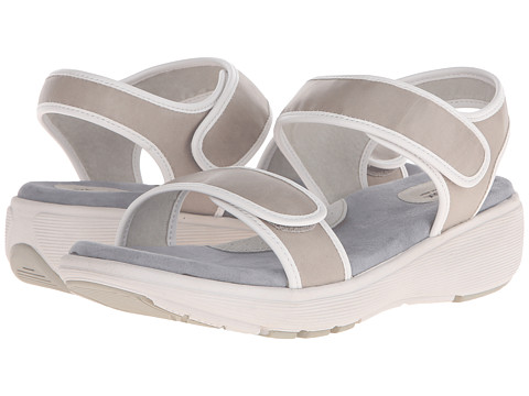 SoftWalk - Elevate (Light Grey/White Veg Leather) Women's Shoes