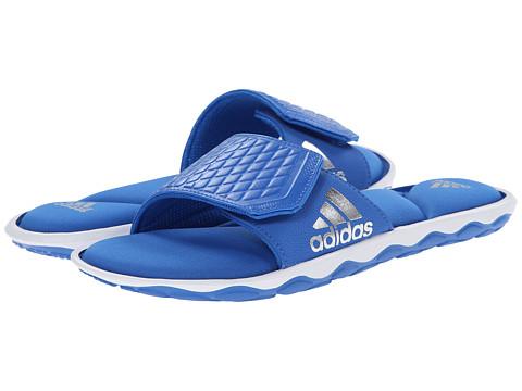 adidas - Anyanda Flex Slide (Bright Royal/White/Silver Metallic) Women's Slide Shoes