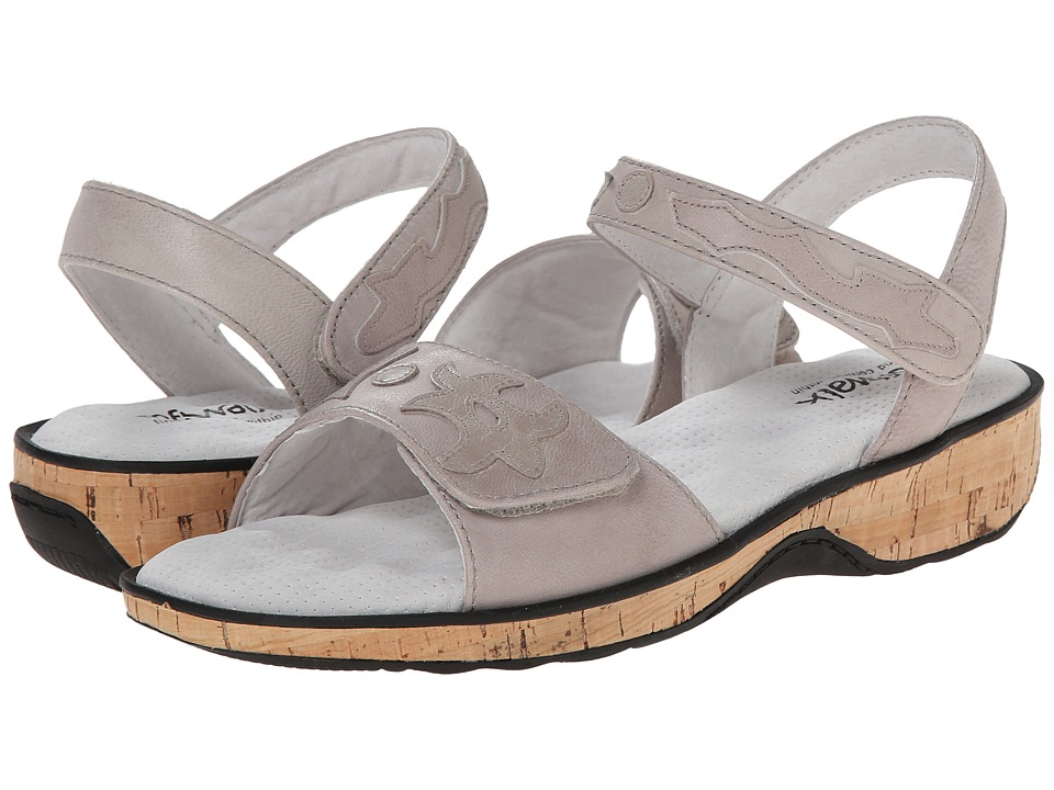SoftWalk - Billings (Light Grey Soft Dull Leather) Women