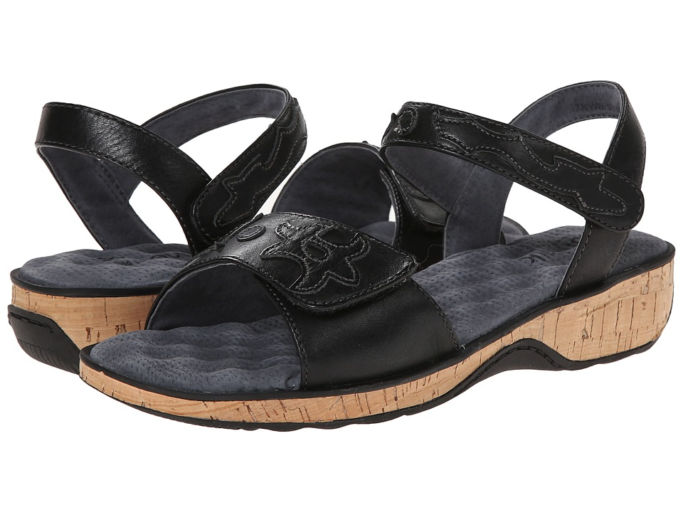 SoftWalk - Billings (Black Calf Leather) Women