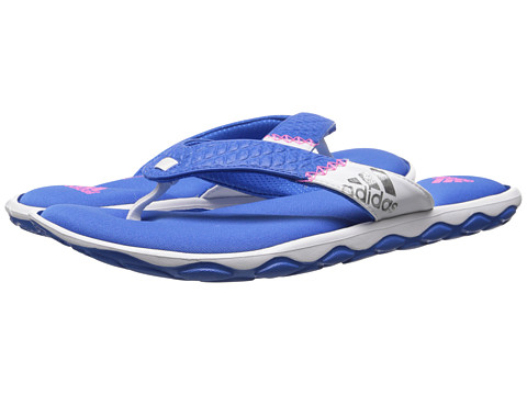 adidas - Anyanda Flex Thong (Bright Royal/Solar Pink/White) Women's Sandals