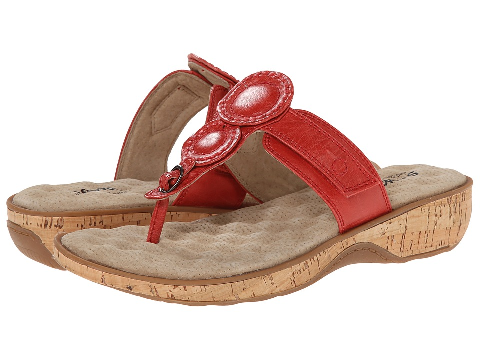 SoftWalk - Beaumont (Red Soft Dull Leather) Women