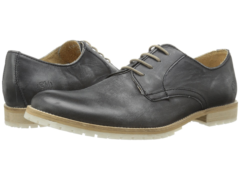 Steve Madden Fleming (Black Leather) Men