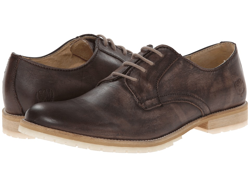 Steve Madden - Fleming (Brown Leather) Men's Lace up casual Shoes