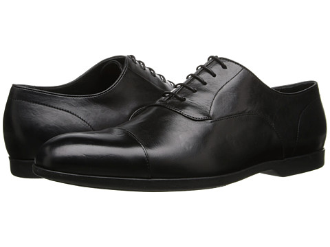 Paul Smith - Eduardo Cap Toe Oxford (Black) Men's Lace Up Cap Toe Shoes
