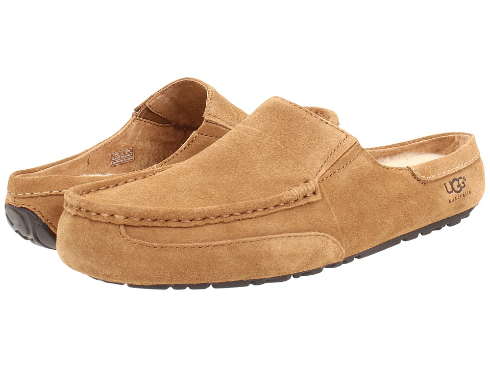 UGG - Alamar (Chestnut Suede) Men's Slippers