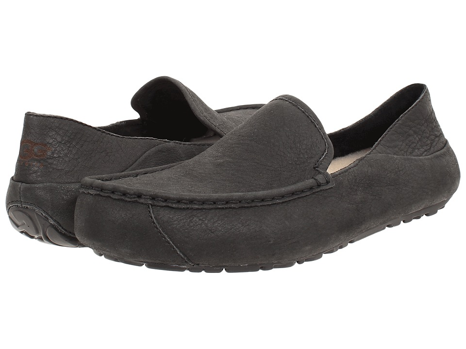 UGG Hunley (Black Leather) Men