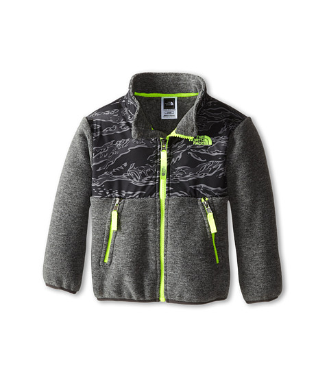 The North Face Kids - Denali Jacket (Toddler) (Recycled Charcoal Grey Heather) Boy's Coat