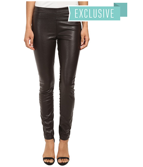 Blank NYC - Chocolate Brown Vegan Leather Pull On Skinny in Bad Date (Bad Date) Women's Jeans