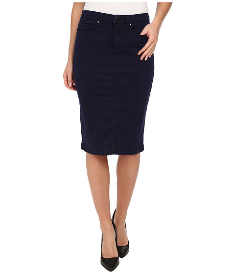 Blank NYC - Navy Blue Pencil Skirt (Midnight Blue) Women