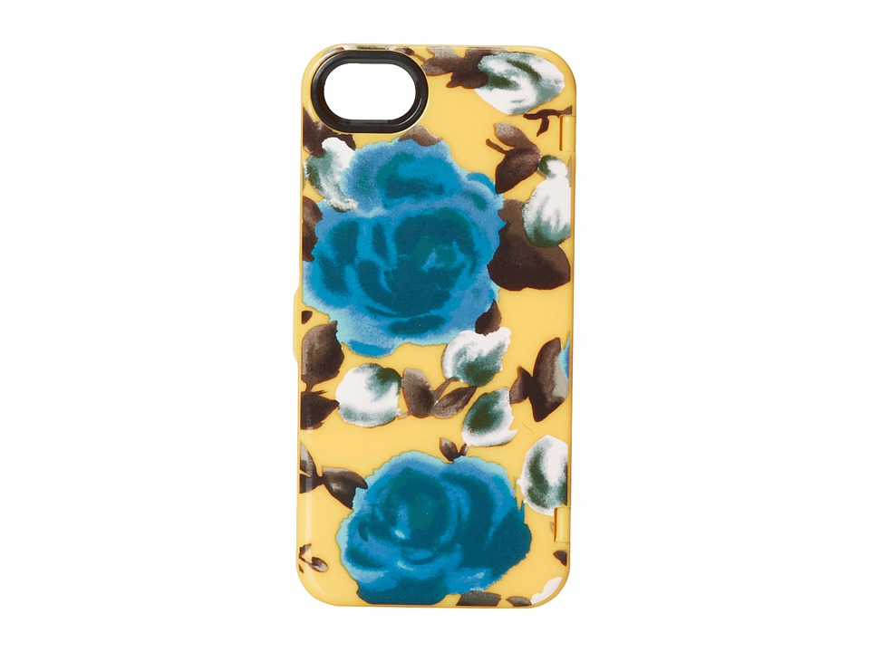 Marc by Marc Jacobs - Mirror Jerrie Rose Phone Case for iPhone 5 and 5s. (Yellow Jacket Multi) Cell Phone Case