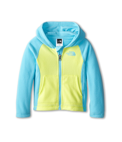 The North Face Kids - Glacier Full Zip Hoodie (Toddler) (Fortuna Blue) Girl's Sweatshirt