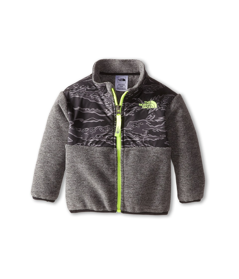 The North Face Kids - Denali Jacket (Infant) (Recycled Charcoal Grey Heather) Kid's Jacket