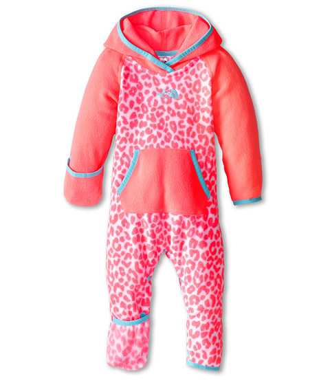 The North Face Kids - Glacier One Piece (Infant) (Sugary Pink Print) Kid's Jumpsuit & Rompers One Piece