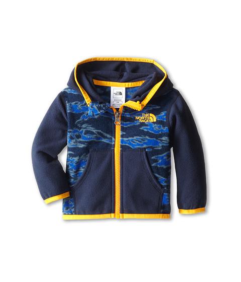 The North Face Kids - Glacier Full Zip Hoodie (Infant) (Cosmic Blue Print) Girl