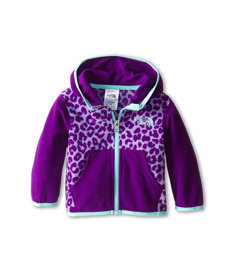 The North Face Kids - Glacier Full Zip Hoodie (Infant) (Violet Tulip Purple) Girl's Sweatshirt