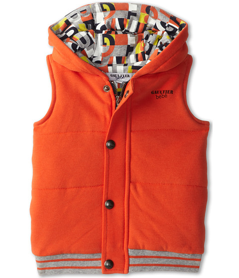 Junior Gaultier - Mao Jacket (Infant) (Orange) Boy's Coat