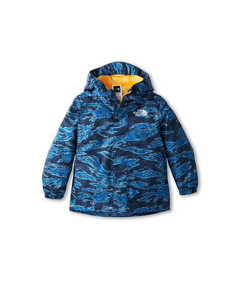 The North Face Kids - Print Tailout Rain Jacket (Toddler) (Cosmic Blue Print) Boy
