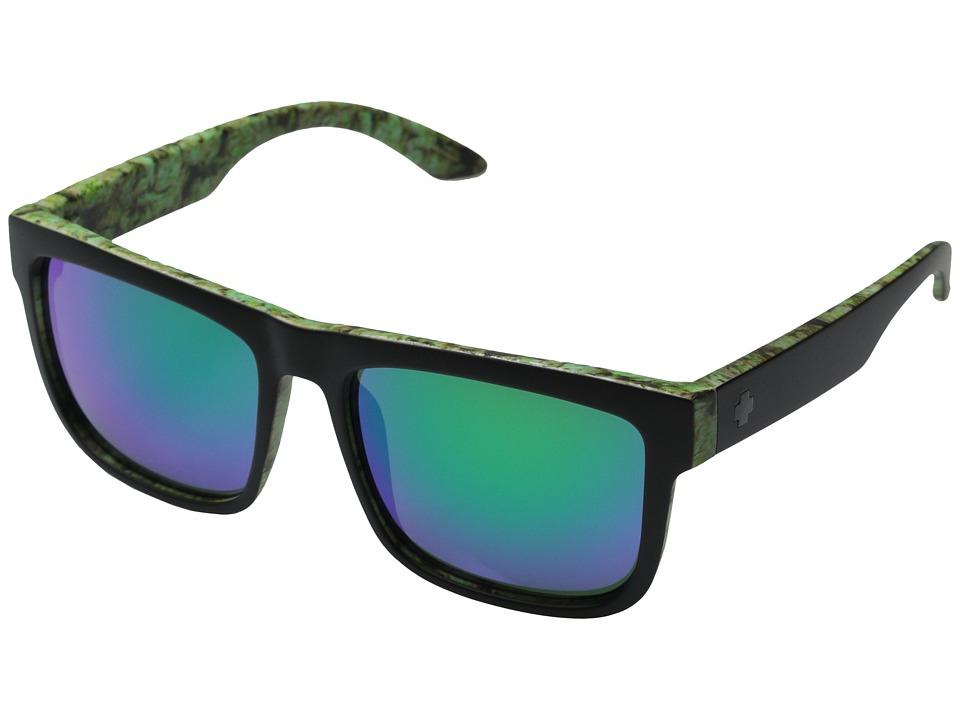 Spy Optic - Discord (Kush Walls - Grey w/ Green Spectra) Sport Sunglasses