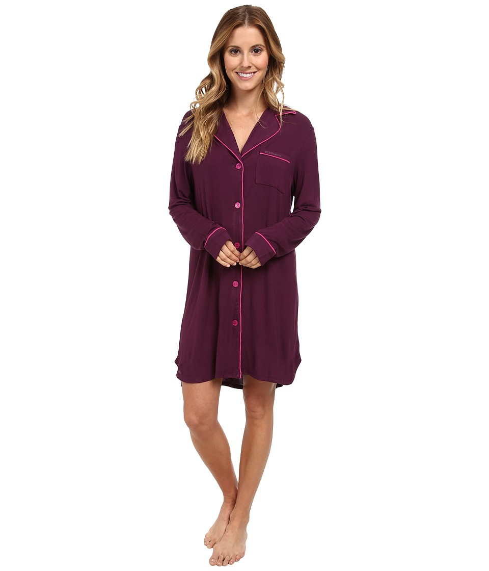 BCBGeneration - Follow That Dream Sleepshirt (Merlot) Women's Pajama