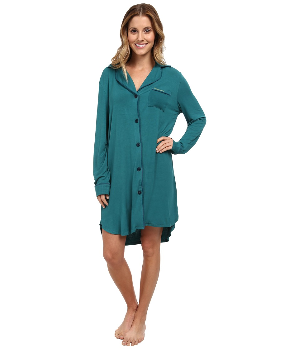 BCBGeneration - I'll Sleep Tomorrow Sleepshirt (Viridian) Women's Pajama