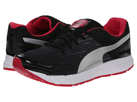 PUMA - Sequence (Black/Puma Silver/Virtual Pink) Women's Shoes