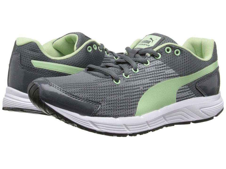 PUMA - Sequence (Turbulence/Patina Green) Women's Shoes