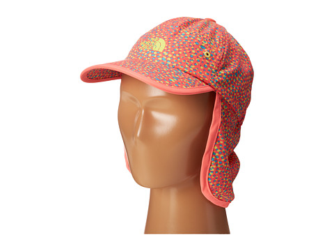 The North Face Kids - Youth Party In The Back Hat (Fortuna Blue Multi Print/Sugary Pink) Caps