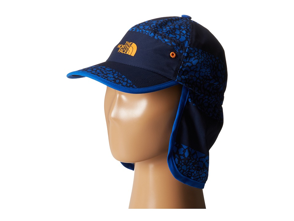 The North Face Kids - Youth Party In The Back Hat (Monster Blue Multi Print) Caps