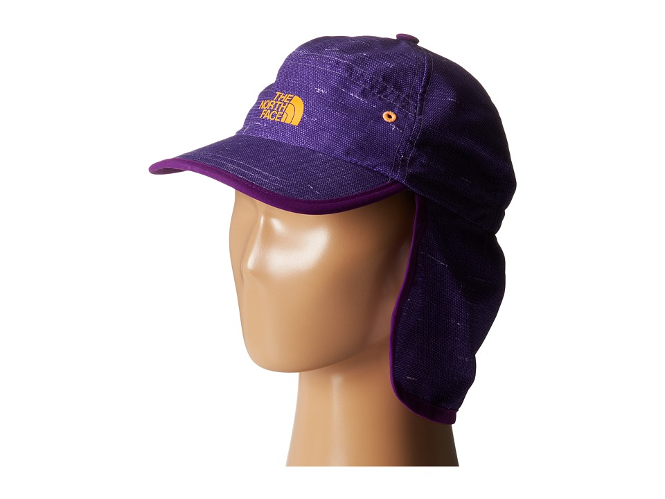 The North Face Kids - Youth Party In The Back Hat (Iris Purple Denim Print) Caps