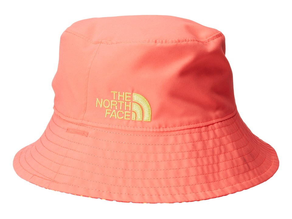 The North Face Kids - Baby Sun Bucket 13 (Infant) (Sugary Pink/Fortuna Blue Multi Print) Bucket Caps